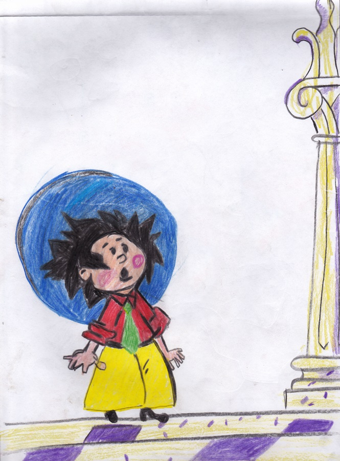 a little boy from a fairy tale сhildren drawing (7)