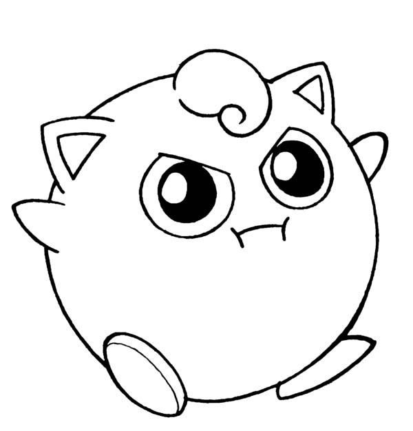 Amazing-Pokemon-Jigglypuff-Coloring-Page
