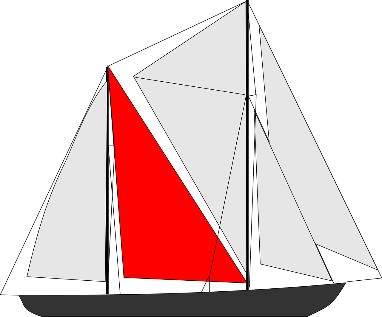 How to draw a boat 12