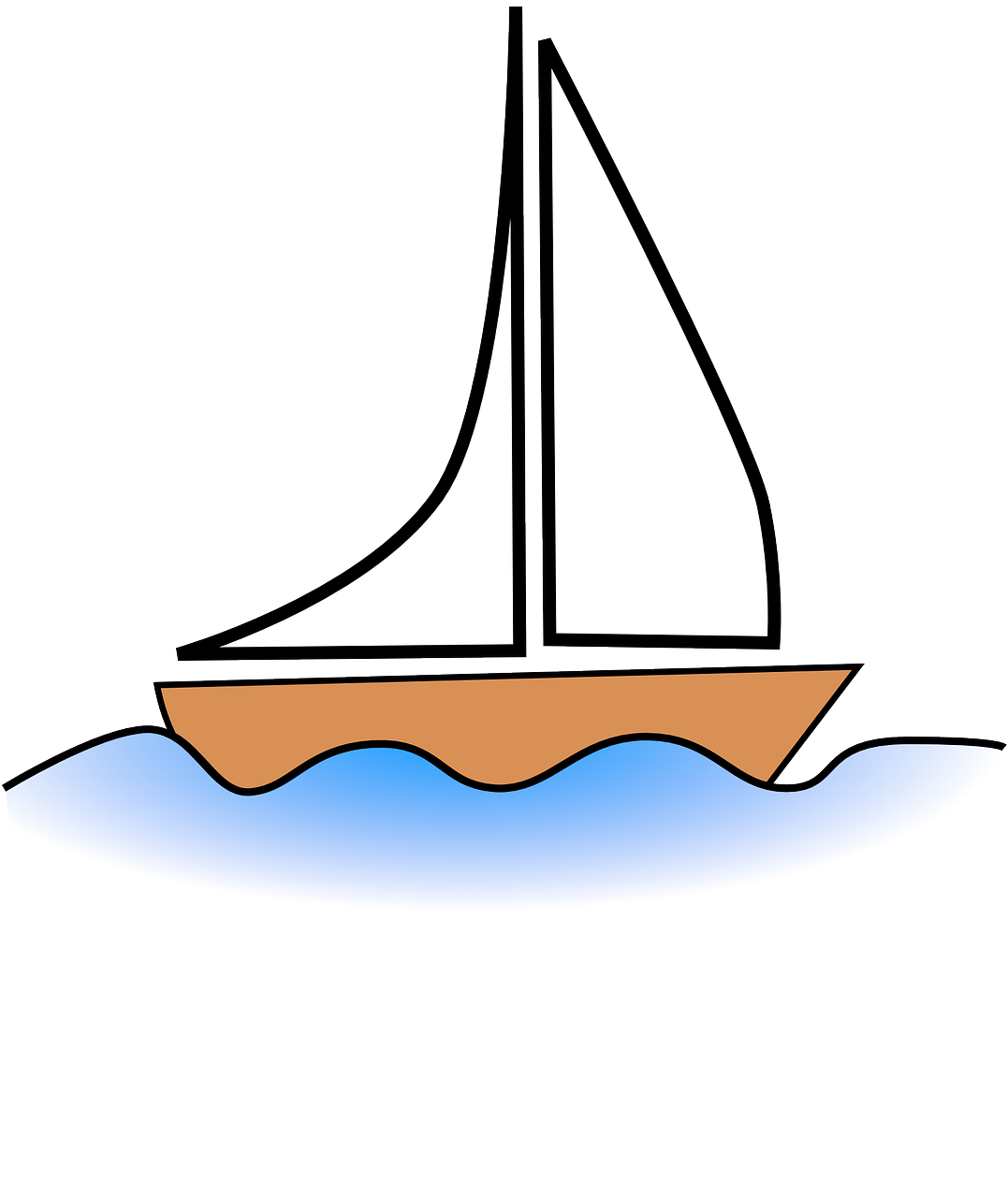 How to draw a boat 13