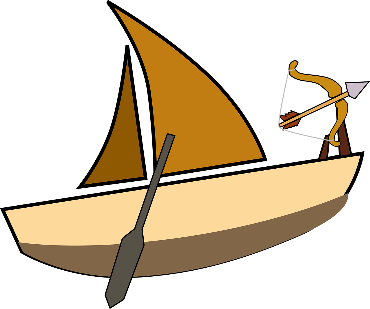 How to draw a boat 16