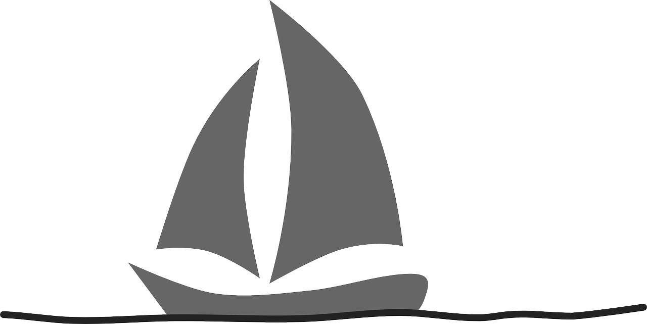 How to draw a boat. stencils 11