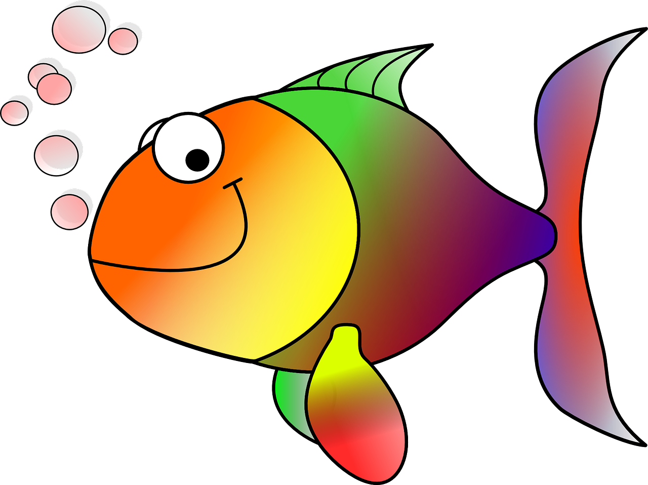 How to draw a fish - the best 2