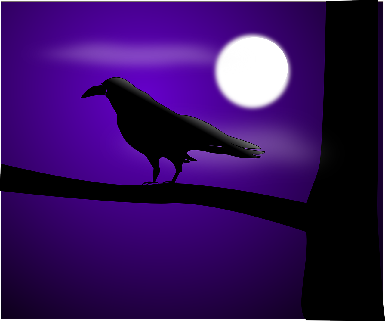 How to draw night, night landscape 6