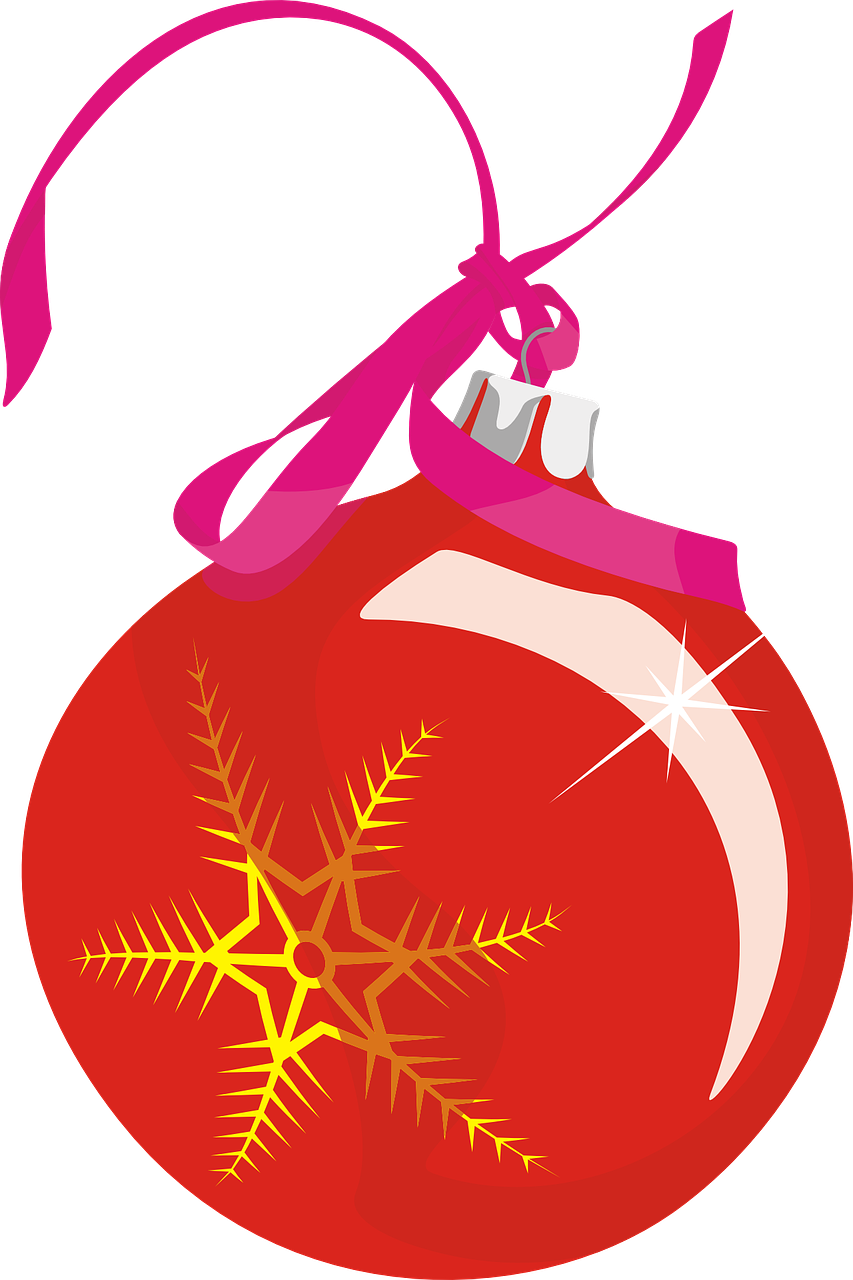how to draw a Christmas ball, bauble 8