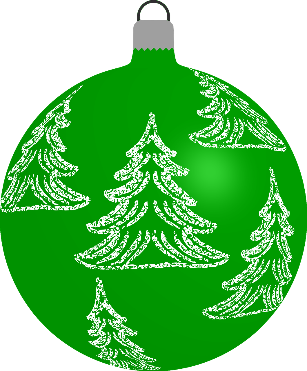how to draw a Christmas ball, bauble