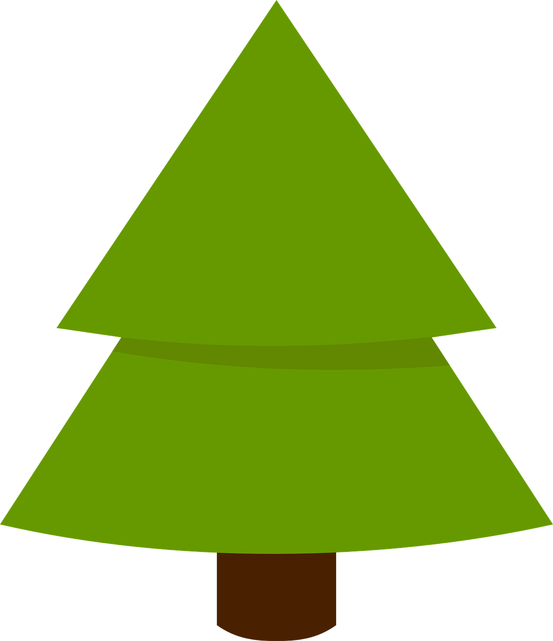 how to draw a Christmas tree 10