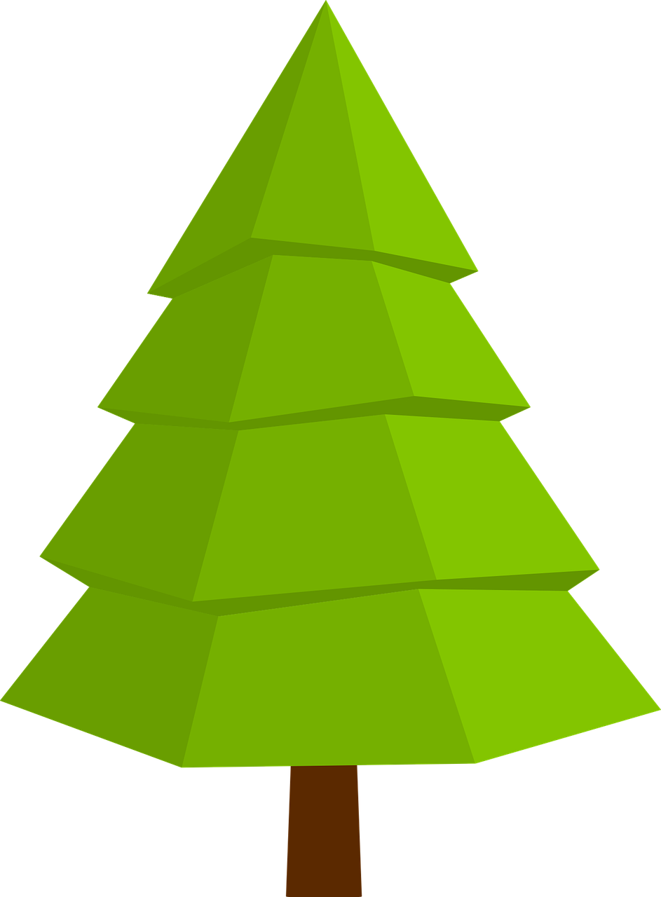how to draw a Christmas tree 9