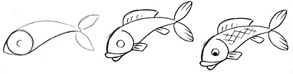 how to draw a fish 23