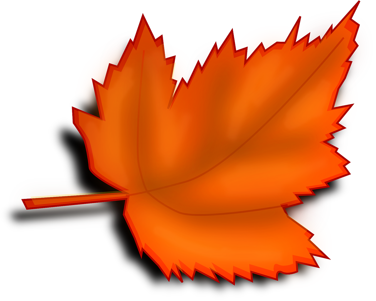 how to draw a leaf 1