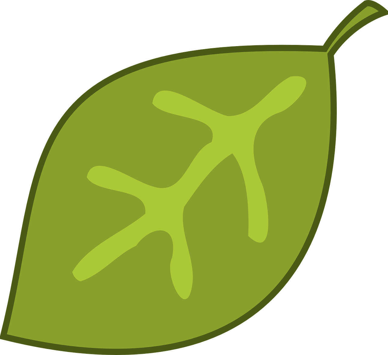how to draw a leaf 18