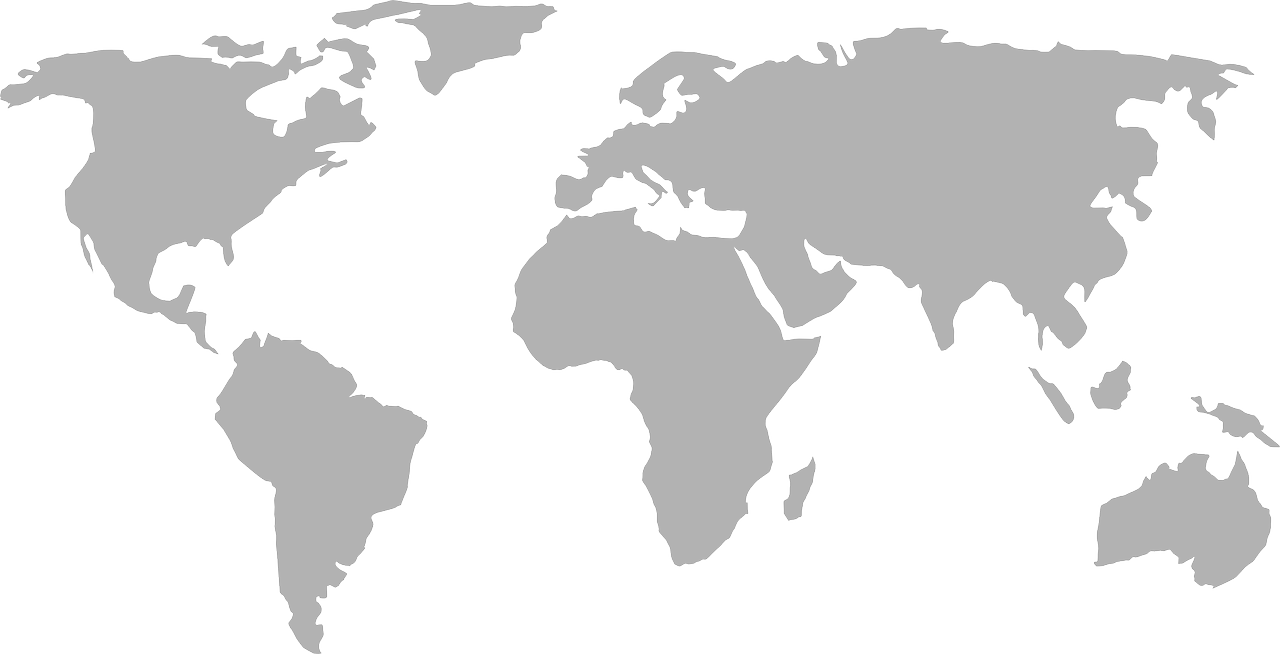 how to draw a map of the world 1