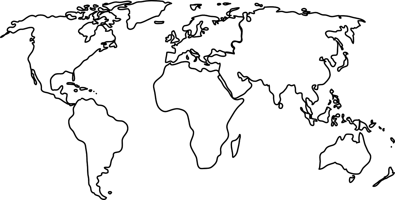 how to draw a map of the world 3