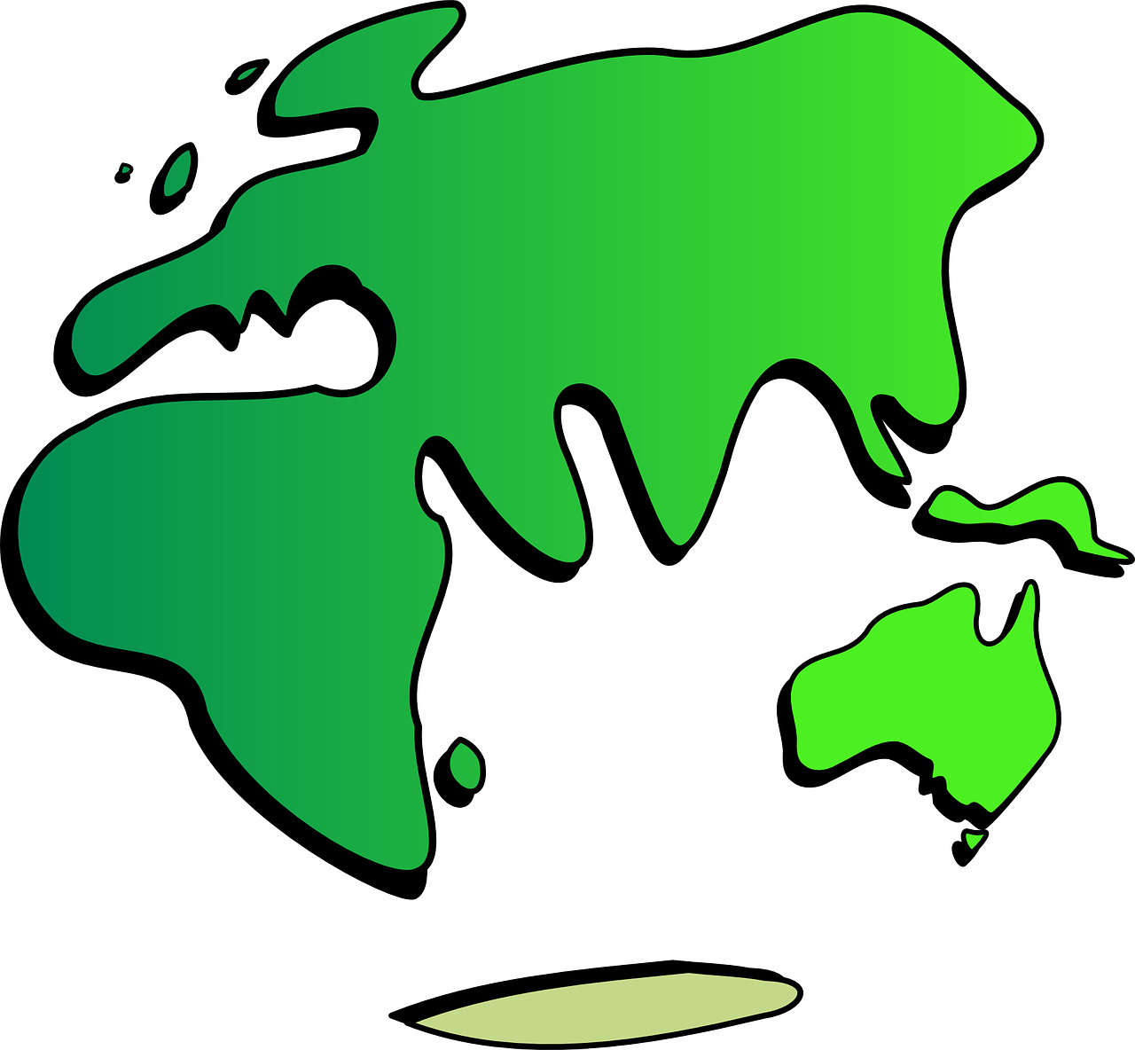 how to draw a map of the world 9