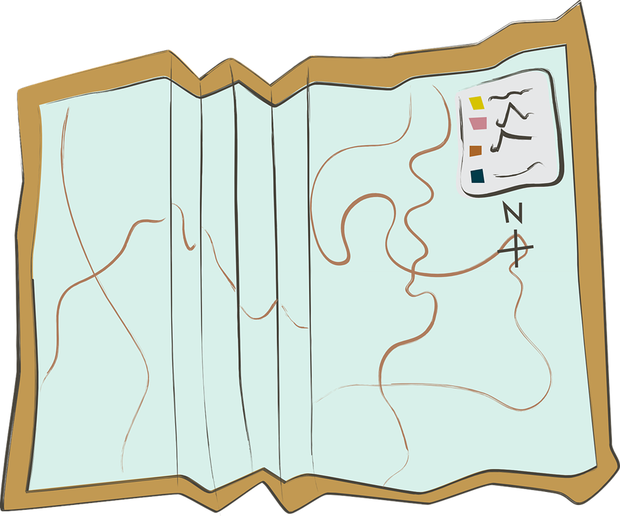 how to draw a treasure map, pirates map 17