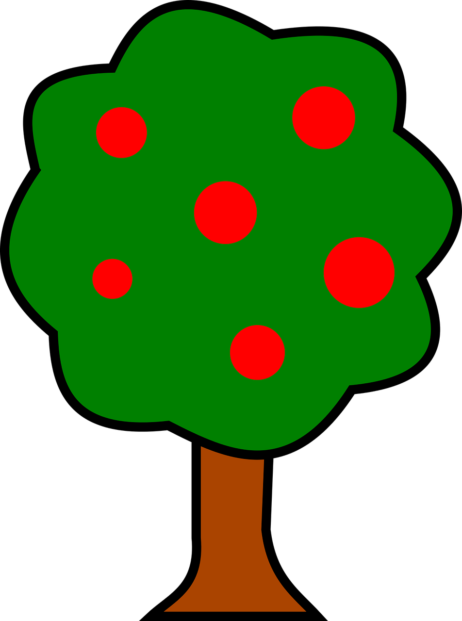 how to draw a tree 10