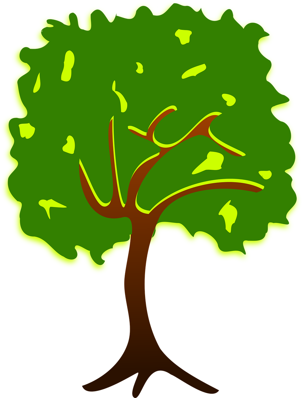 how to draw a tree 9