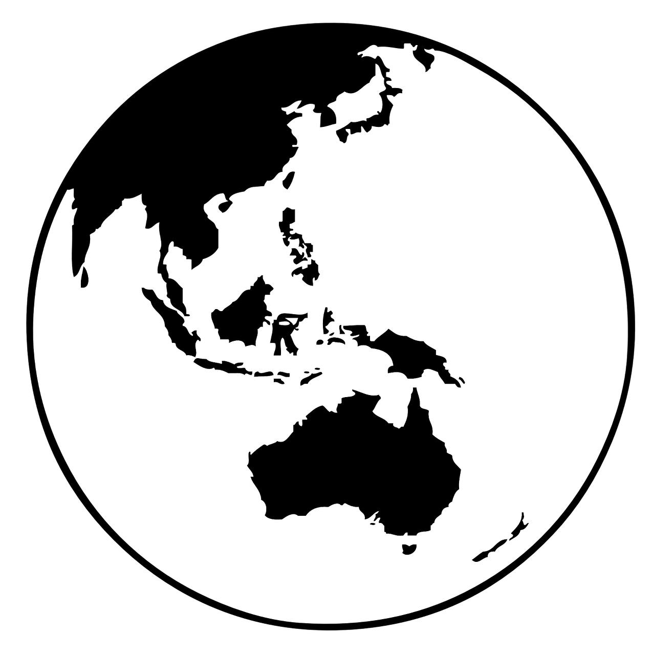 how to draw globe on a ball 13