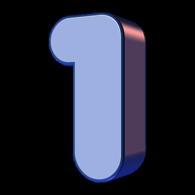 numbers printable 01 - 1