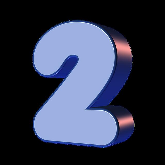 numbers printable 01 - 2