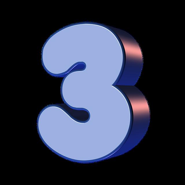 numbers printable 01 - 3