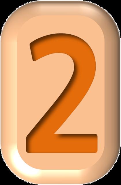 numbers printable 02 - 2