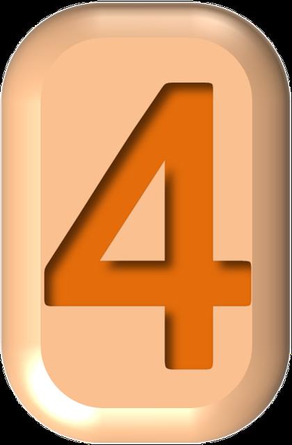 numbers printable 02 - 4