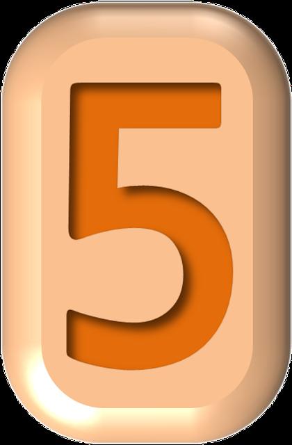 numbers printable 02 - 5