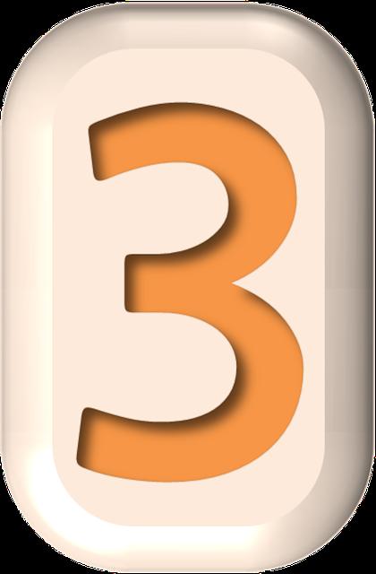 numbers printable 03 - 3