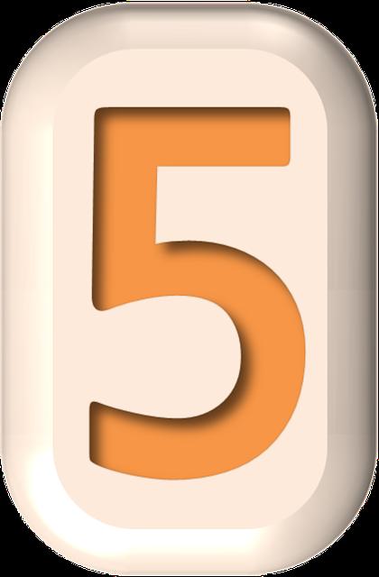 numbers printable 03 - 5