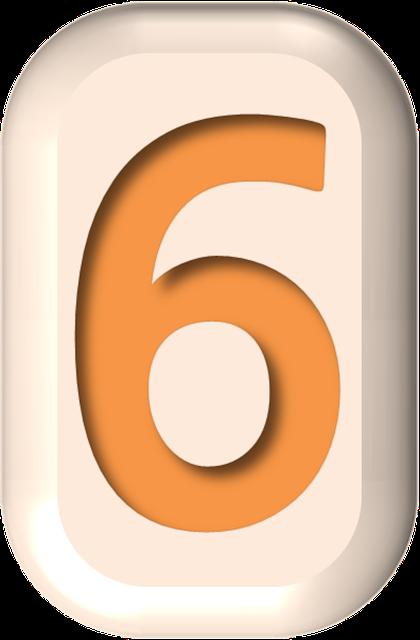 numbers printable 03 - 6