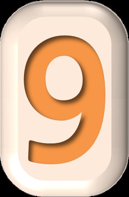 numbers printable 03 - 9