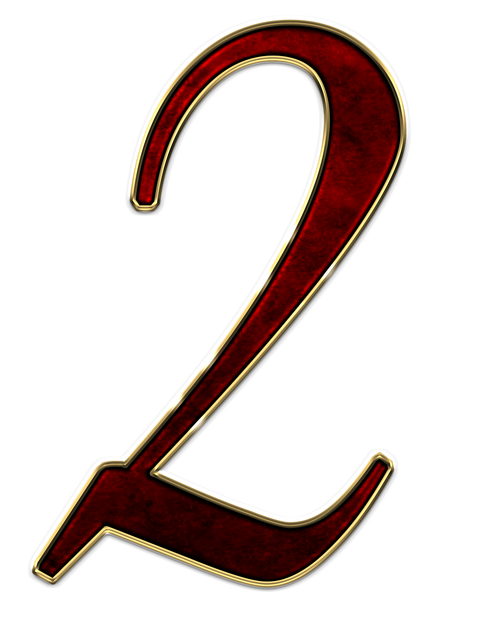 2 two- numbers from 1 to 10 images for printing, part 11