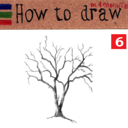 How to draw a tree: easy lesson part 2