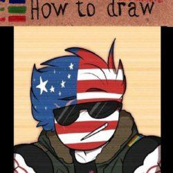 America flag humanization - 10 free photos