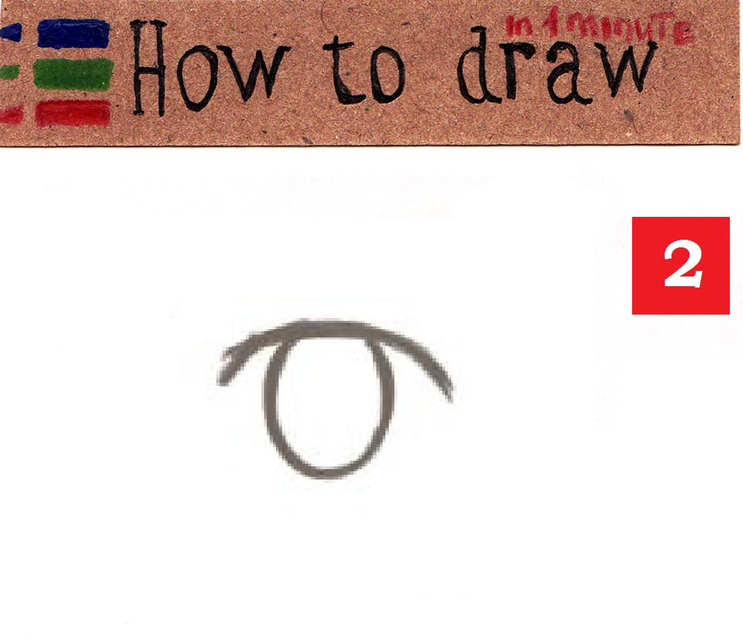 How to draw anime eyes - easy tutorial step by step