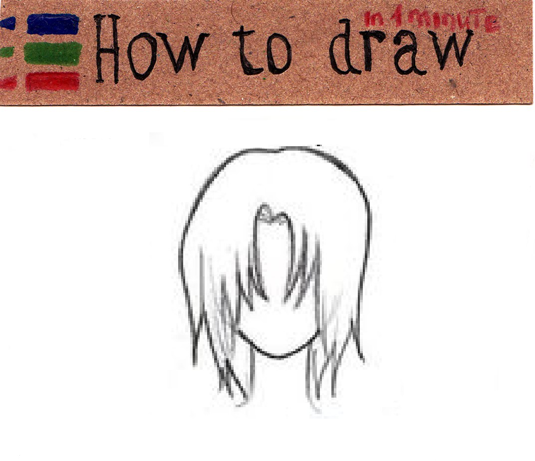 Easy anime boys Hair Coloring Pages: 6 Easy Coloring Pages