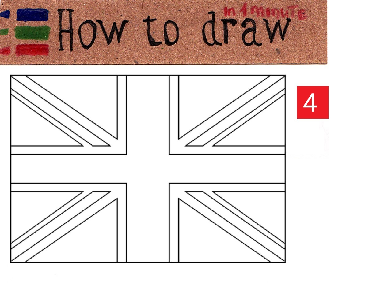 How to draw the UK flag