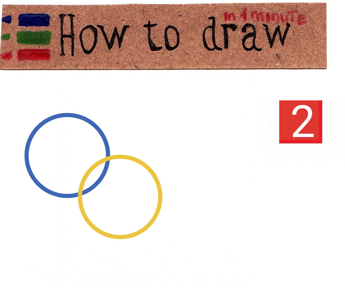 How to draw the 2020 Summer Olympics emblem