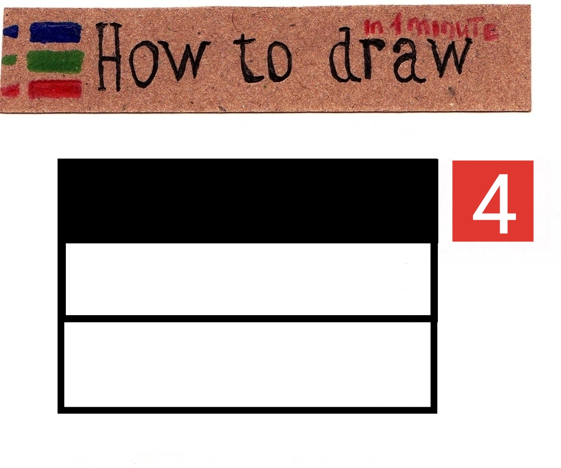 How to draw the flag of Germany