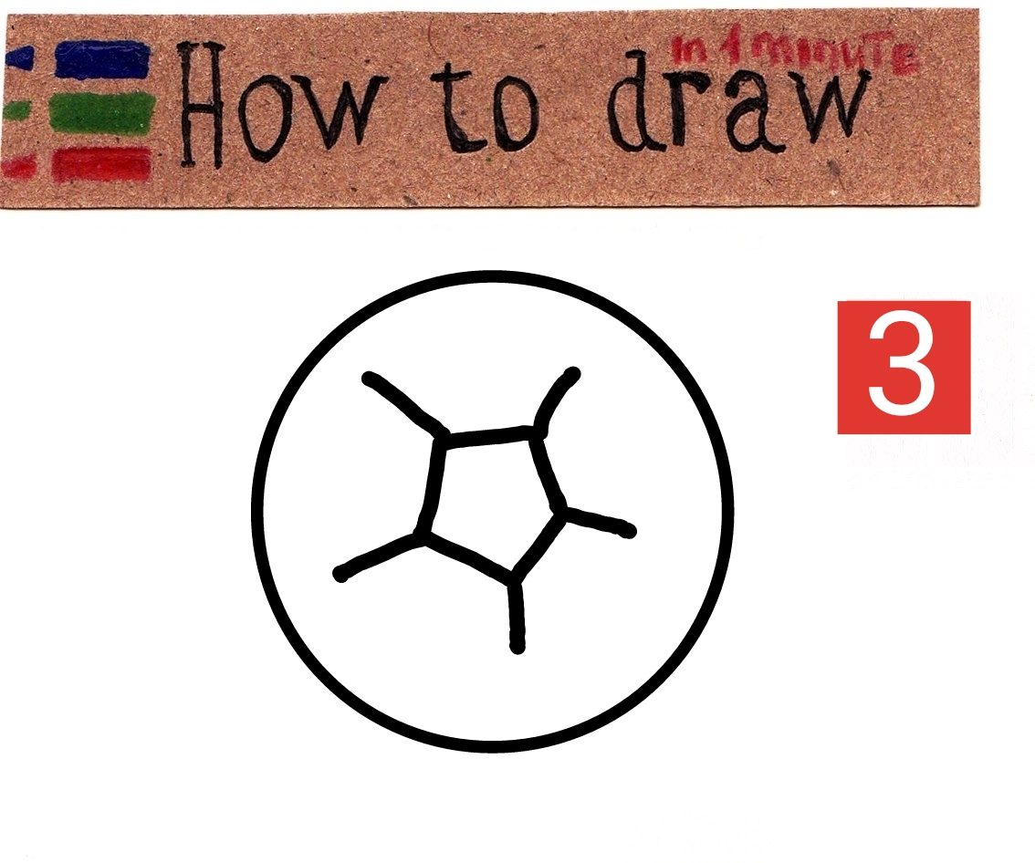 How to draw a soccer ball step by step