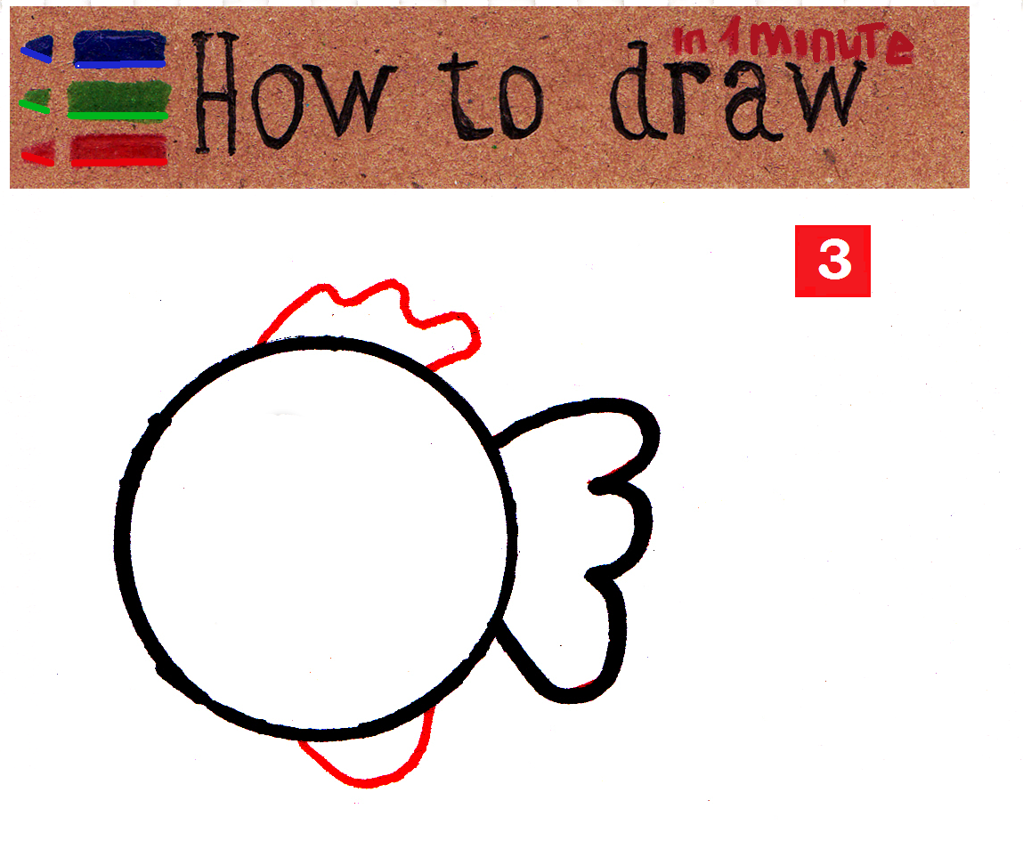 HowHow to draw a fish step by step to draw a fish step by step