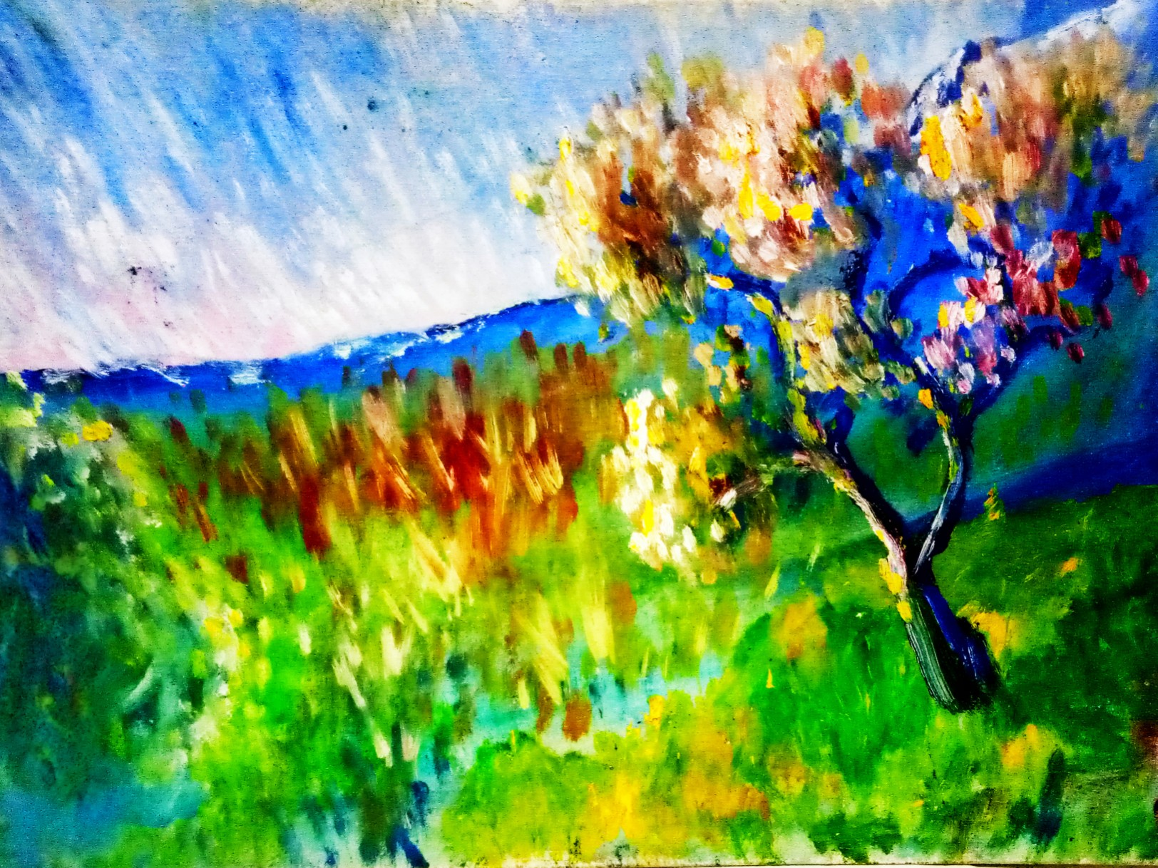 painting in the style of impressionism