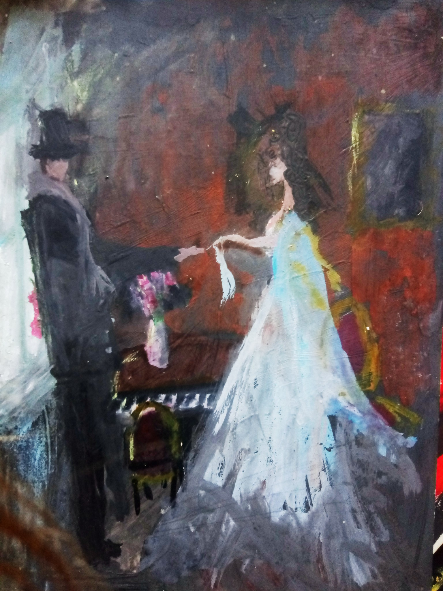 Painting - impressionism style