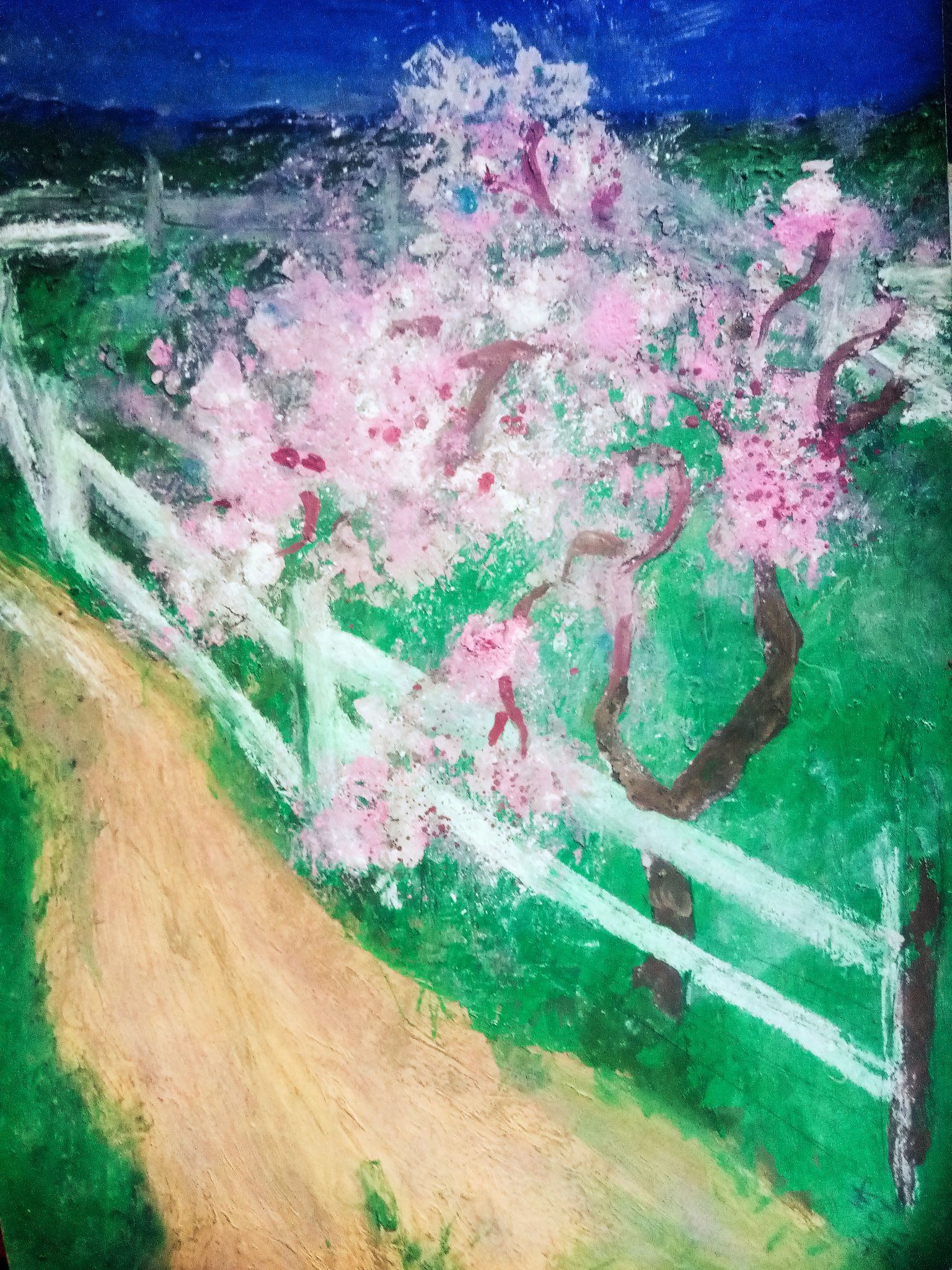 Painting in the style of impressionism for the interior, part 1