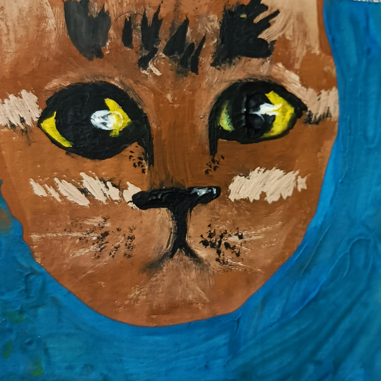 Miniatures of cats - beautiful pictures in the style of impressionism