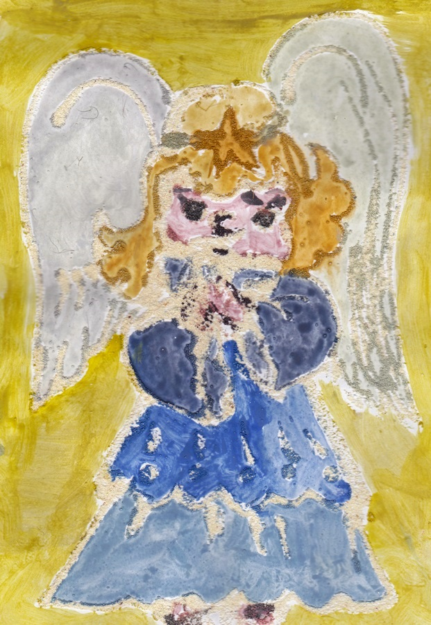 Angel – a child's drawing