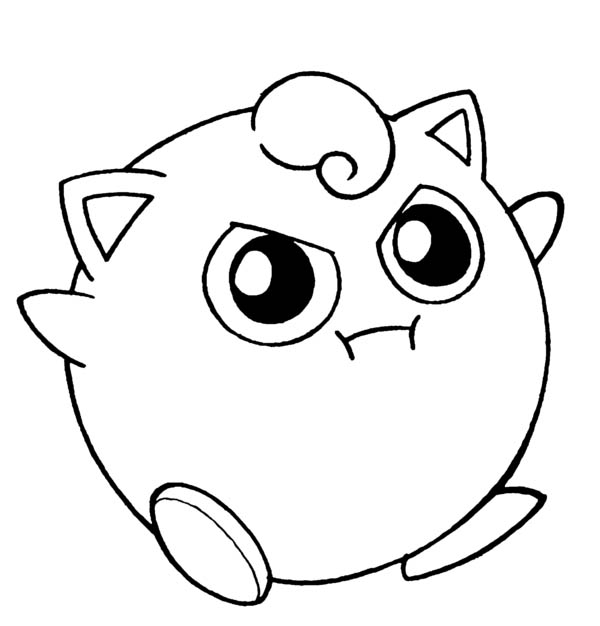 Amazing-Pokemon-Jigglypuff-Coloring-Page