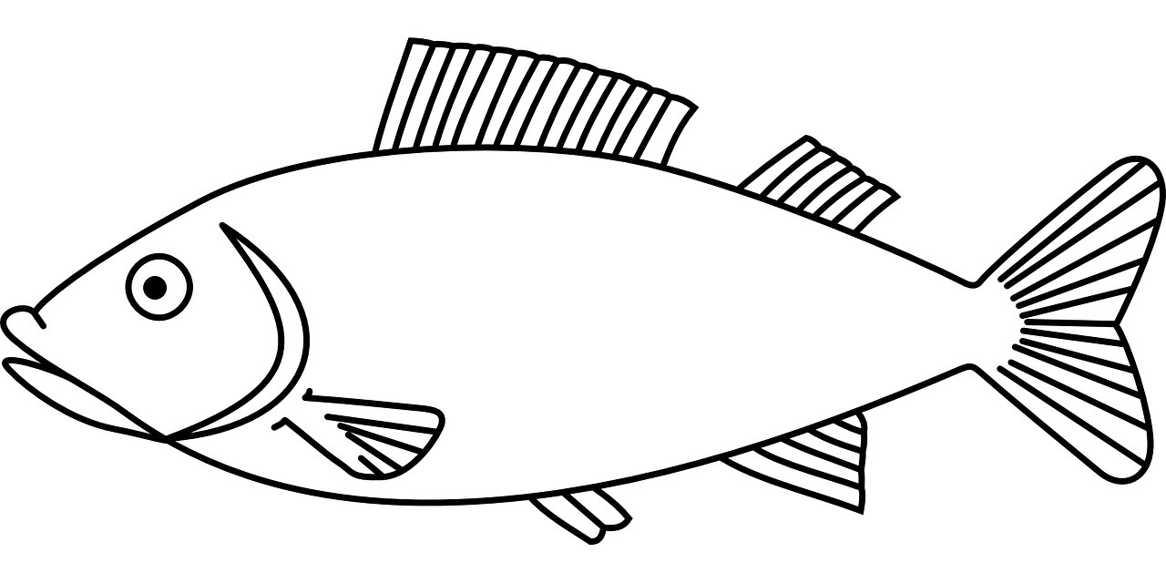 Fish Coloring Pages Free For Kids 10