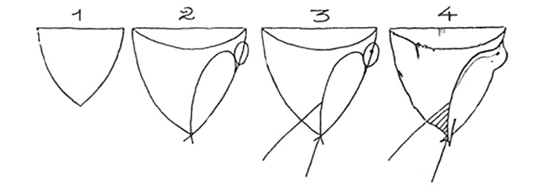 How to draw a bird drawings of swallow 2,2